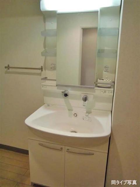 グランドール武戸野 0601号室の洗面所