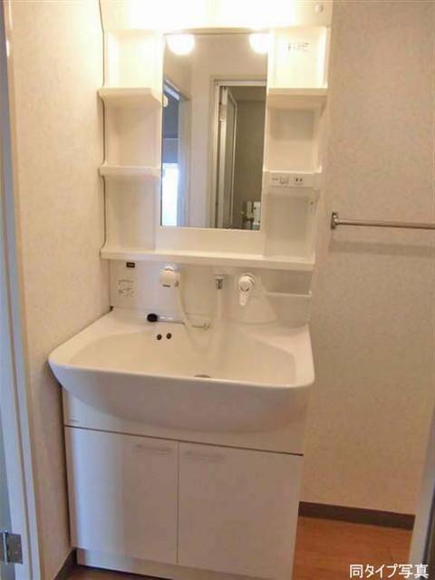 グランドール武戸野 0601号室のトイレ