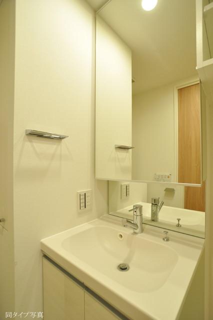 パークフロント淡路町 0503号室の洗面所