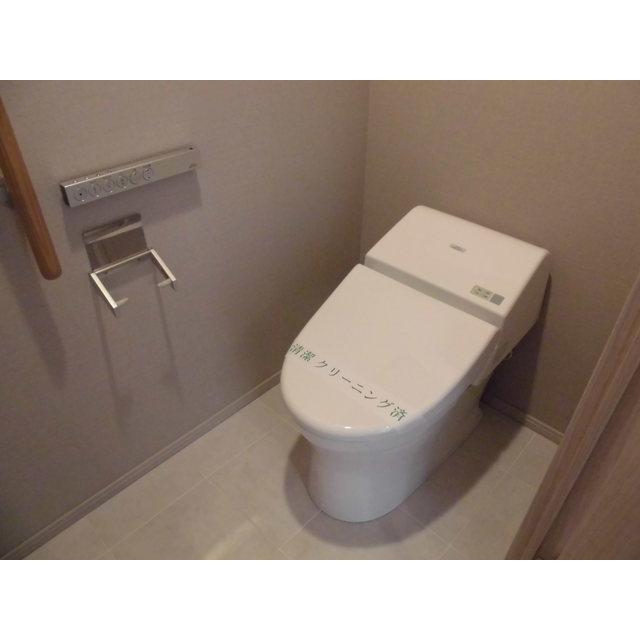 クロスエアタワー 2615号室のトイレ