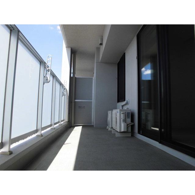 クロスエアタワー 2615号室のバルコニー