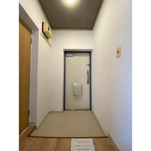 めじろ団地10号棟 501号室の玄関