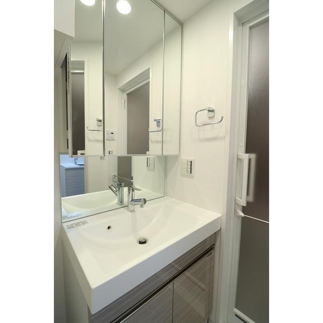 ジオエント巣鴨 0202号室の洗面所