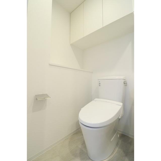 ジオエント巣鴨 0601号室のトイレ