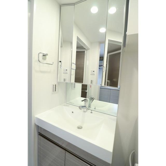 ジオエント巣鴨 0502号室の洗面所