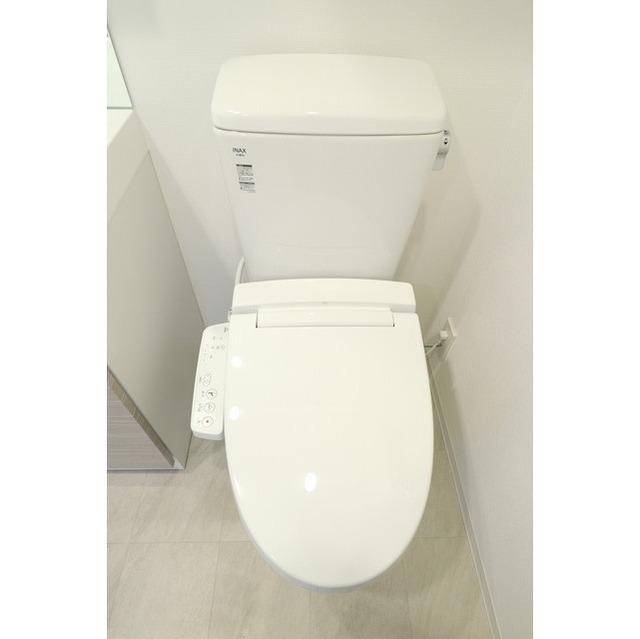 ジオエント巣鴨 0502号室のトイレ