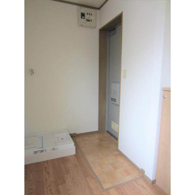 シティコート千駄木 303号室の玄関