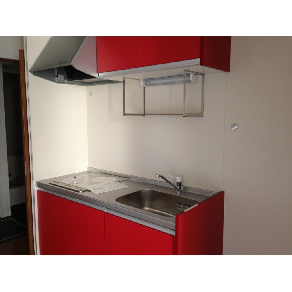 サンクラベール 101号室のキッチン