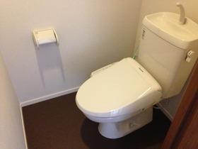 サンクラベール 101号室のトイレ