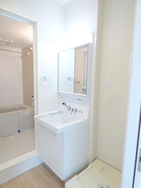 不二セーヌ 501号室の洗面所