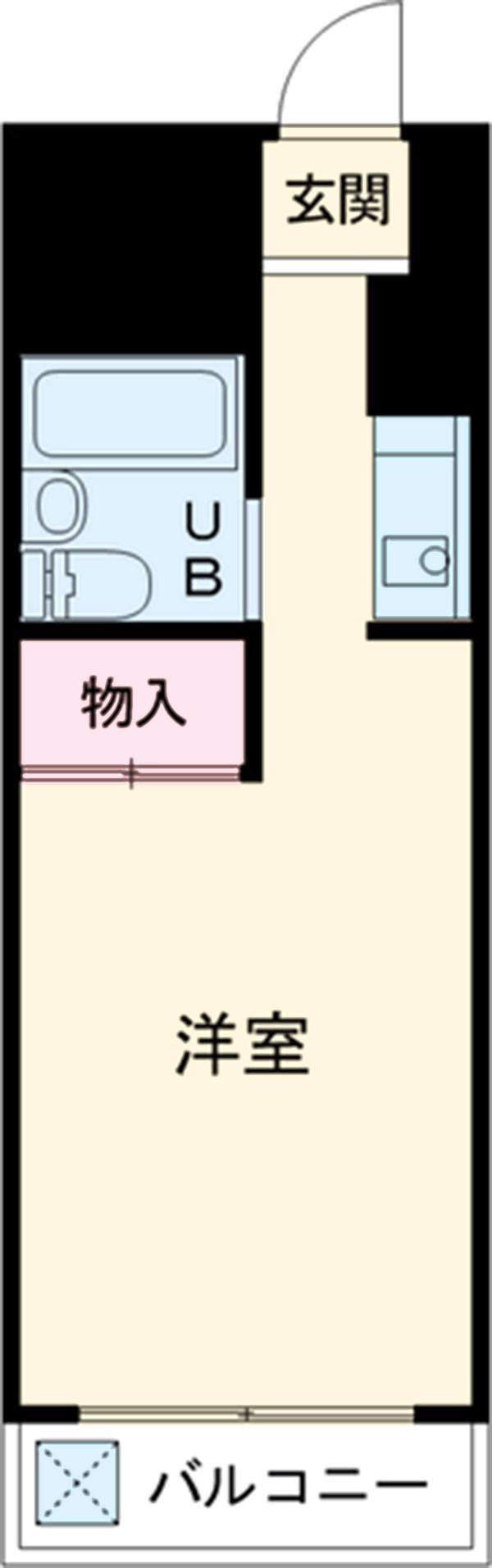 ミリアン稲沢駅前 102号室の間取り