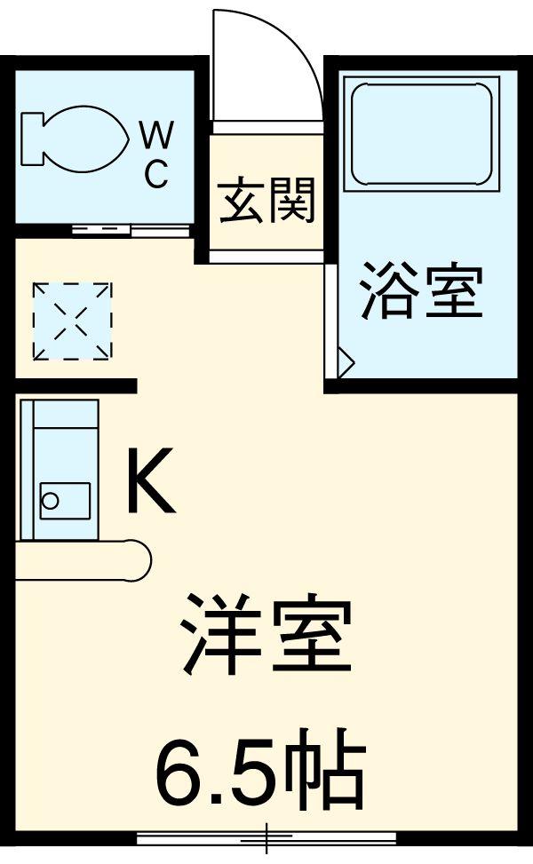 コラーレ二俣川 102号室の間取り
