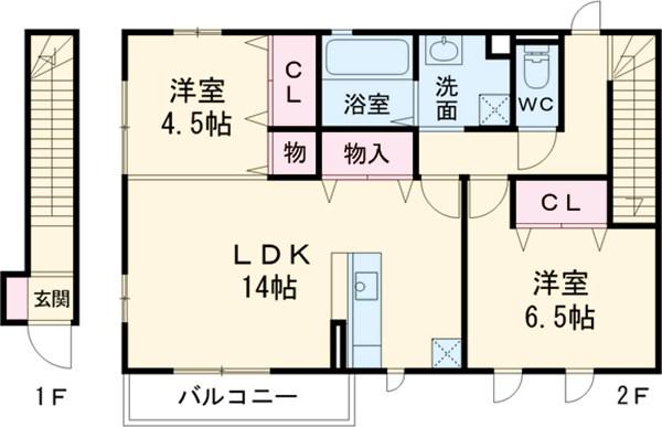 新着賃貸17:大阪府堺市南区高倉台2丁の新着賃貸物件