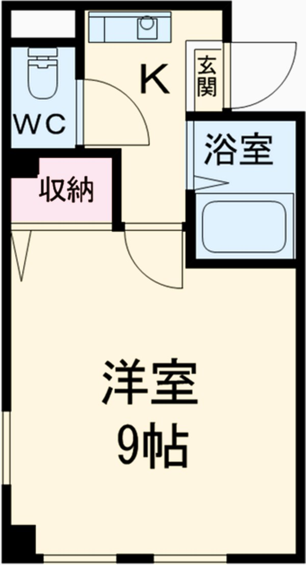 ハーモニーマンション 706号室間取り図
