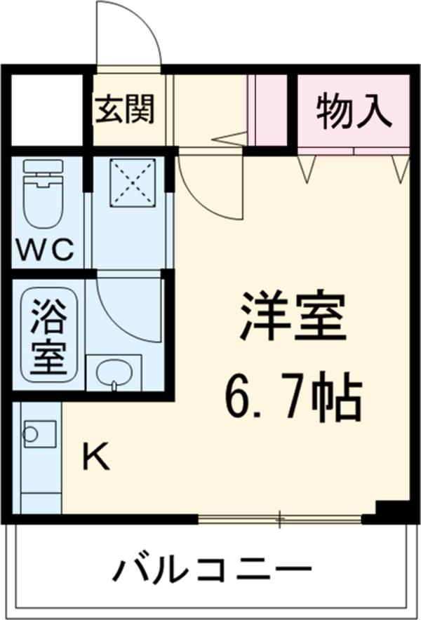 トヨタ東京教育センター別館 309号室の間取り