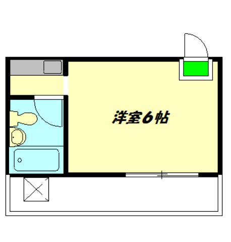 ビケンアーバンス 502号室間取り図