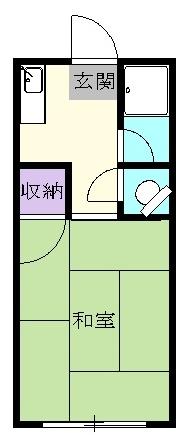 第2菊富士マンション 102号室の間取り