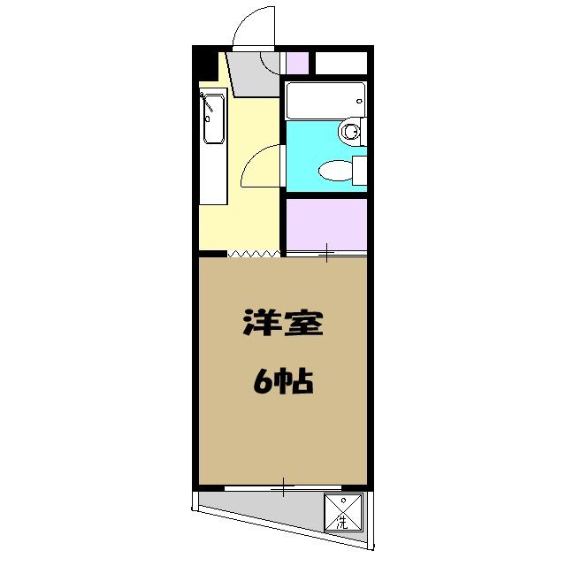 丸善ビル 303号室の間取り