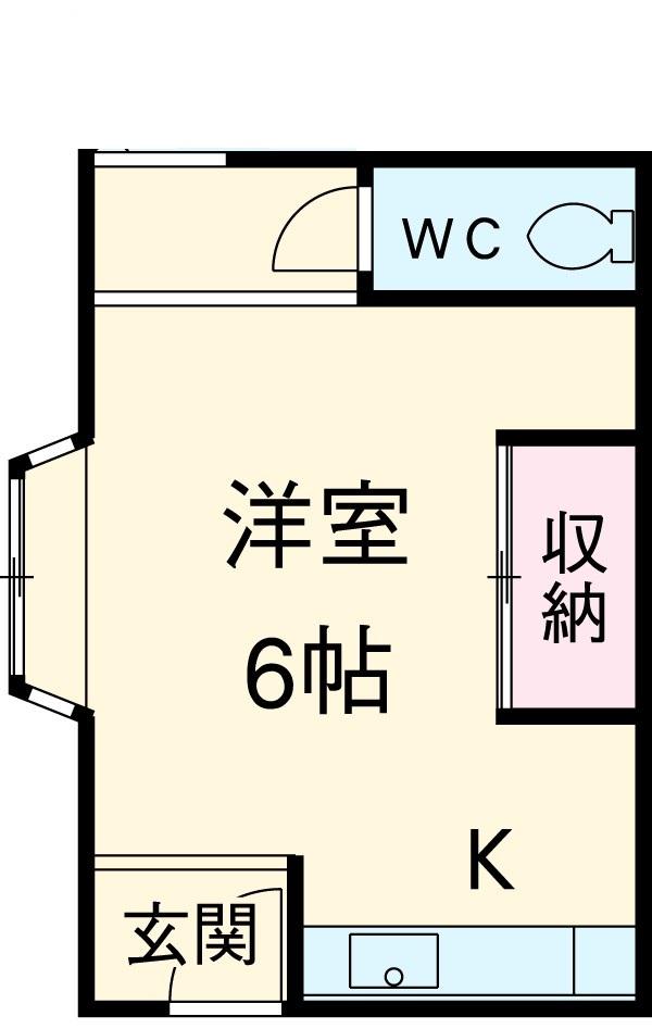 小山アパート 201号室の間取り
