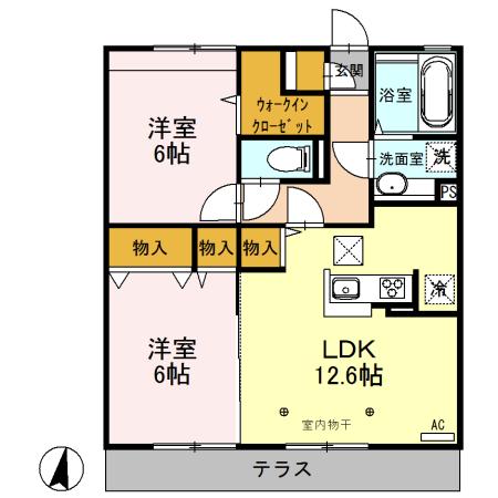 新着賃貸6:茨城県筑西市稲野辺の新着賃貸物件
