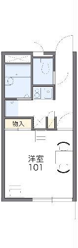 レオパレスTAKAHASHI Homes 203号室の間取り