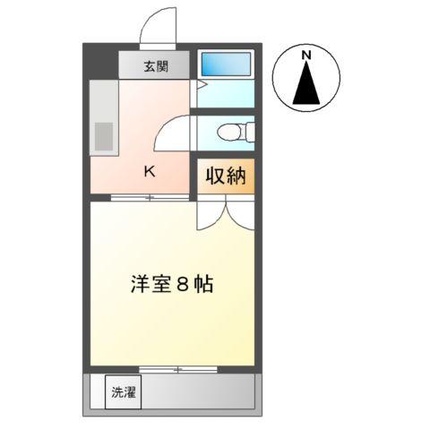 リバティ渋谷 00307号室の間取り