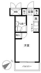 スカイコート戸塚 310号室の間取り