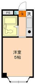 パンシオン南浦和No.1 302号室の間取り