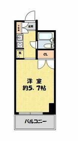 コスモ亀有Ⅴ 803号室の間取り