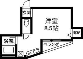 シェルコート倉賀野 402号室の間取り