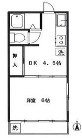 いでマンション 3号室の間取り