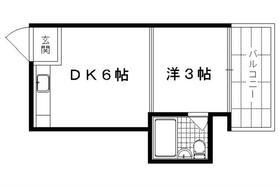 第1レジデンス春田 133号室の間取り