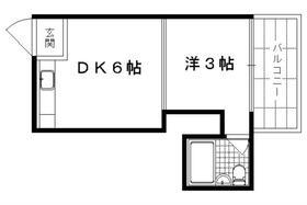 第1レジデンス春田 117号室の間取り