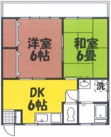 コーポ宮沢 203号室の間取り