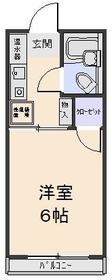 藤栄ハイツ 202号室の間取り
