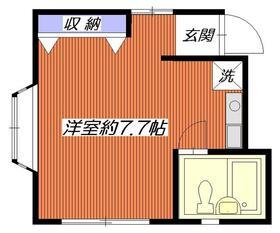 アビタシオンM堀ノ内 C棟 202号室の間取り