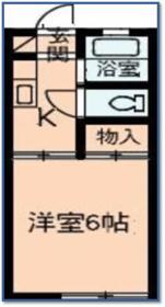 石井マンション 105号室の間取り