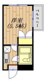 モンテリサイア淵野辺 305号室 305号室の間取り