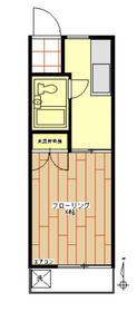 コピーヌカナメ 205号室の間取り