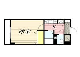 ロリエタワー川崎 1010号室の間取り