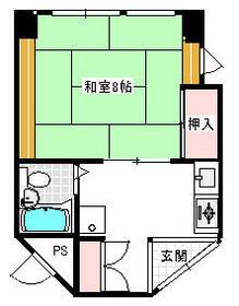 山崎ビル 4A号室の間取り