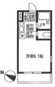フィットハウス初音ヶ丘弐番館 105号室の間取り