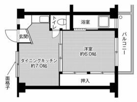 ビレッジハウス秋葉2号棟 0403号室の間取り