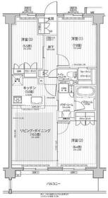 Nステージ東小金井 311号室の間取り