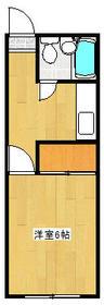 幕張ピュアハウス 203号室の間取り