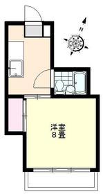 メゾン松坂 102号室の間取り