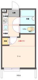 パークコート新横浜 C号室の間取り