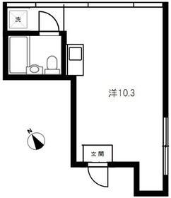 祥日東日本橋ビル 302号室の間取り