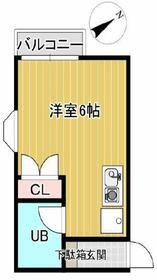 シャルムミユキ 205号室の間取り