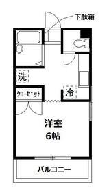 旭横浜ビル 304号室の間取り